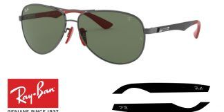 Ray-Ban 8313M Replacement Arms-Temples