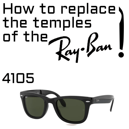 How to change the temmples of the RB4105