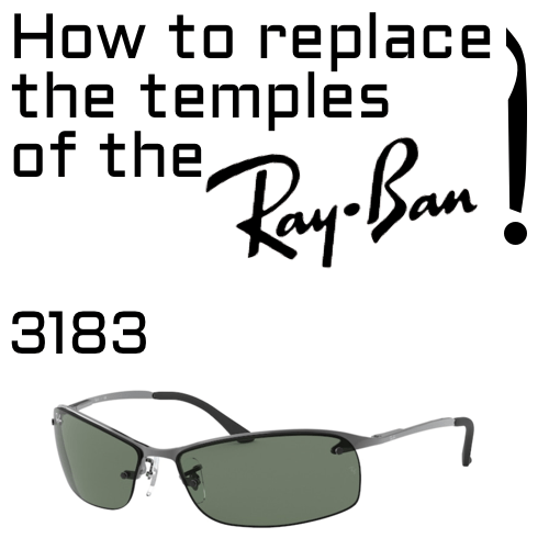 How to replace the temples 3183