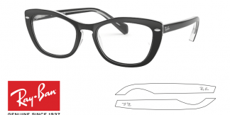 Ray-Ban 5366 Replacement Arms-Temples