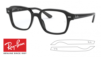 Ray-Ban 5382 Replacement Arms-Temples