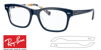 Ray-Ban 5383 Replacement Arms-Temples