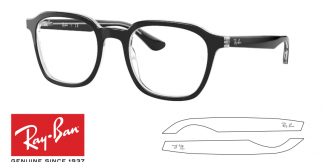 Ray-Ban 5390 Replacement Arms-Temples