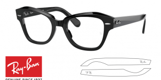 Ray-Ban 5486 Replacement Arms-Temples