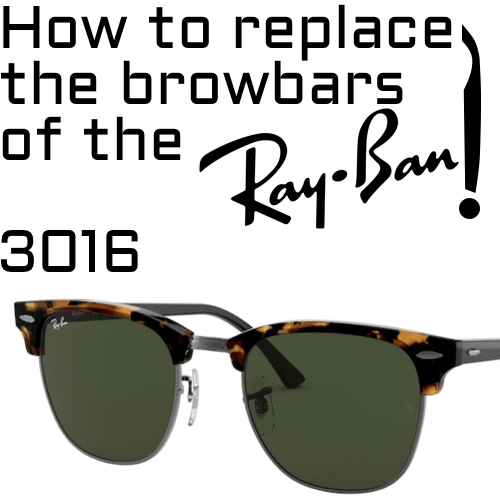 how to change the browbars RB3016