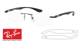 Ray-Ban 8724 Replacement Arms-Temples